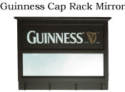 Guinness Cap Rack Mirror